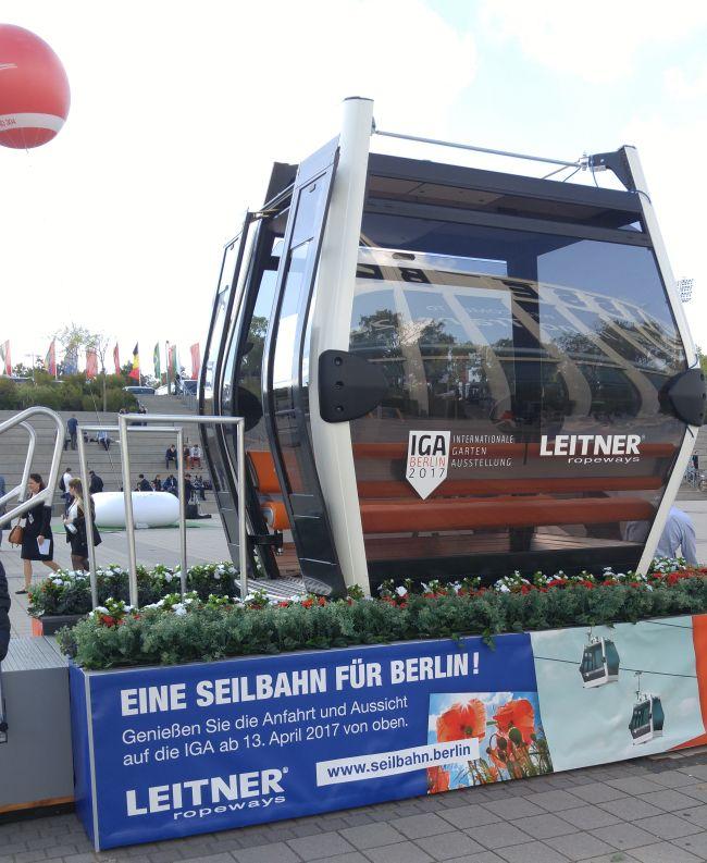 Seilbahn Berlin IGA Innotrans 2016