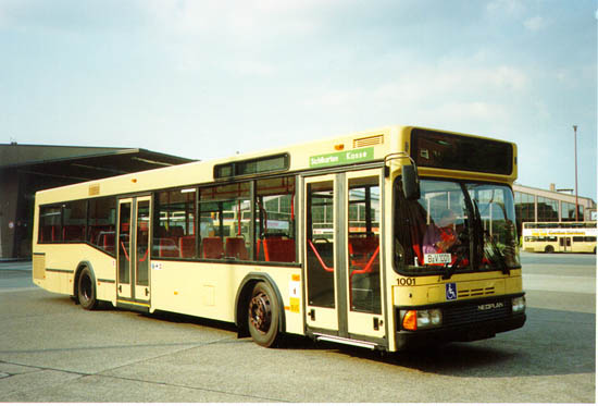 Bus 1001, BVG-Foto;