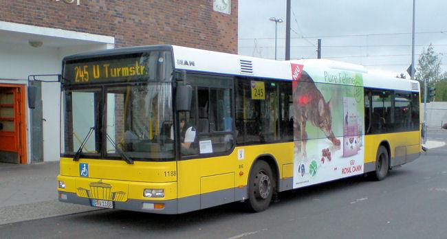 Bus 1188, MAN EN 00, Nordbahnhof, 2007