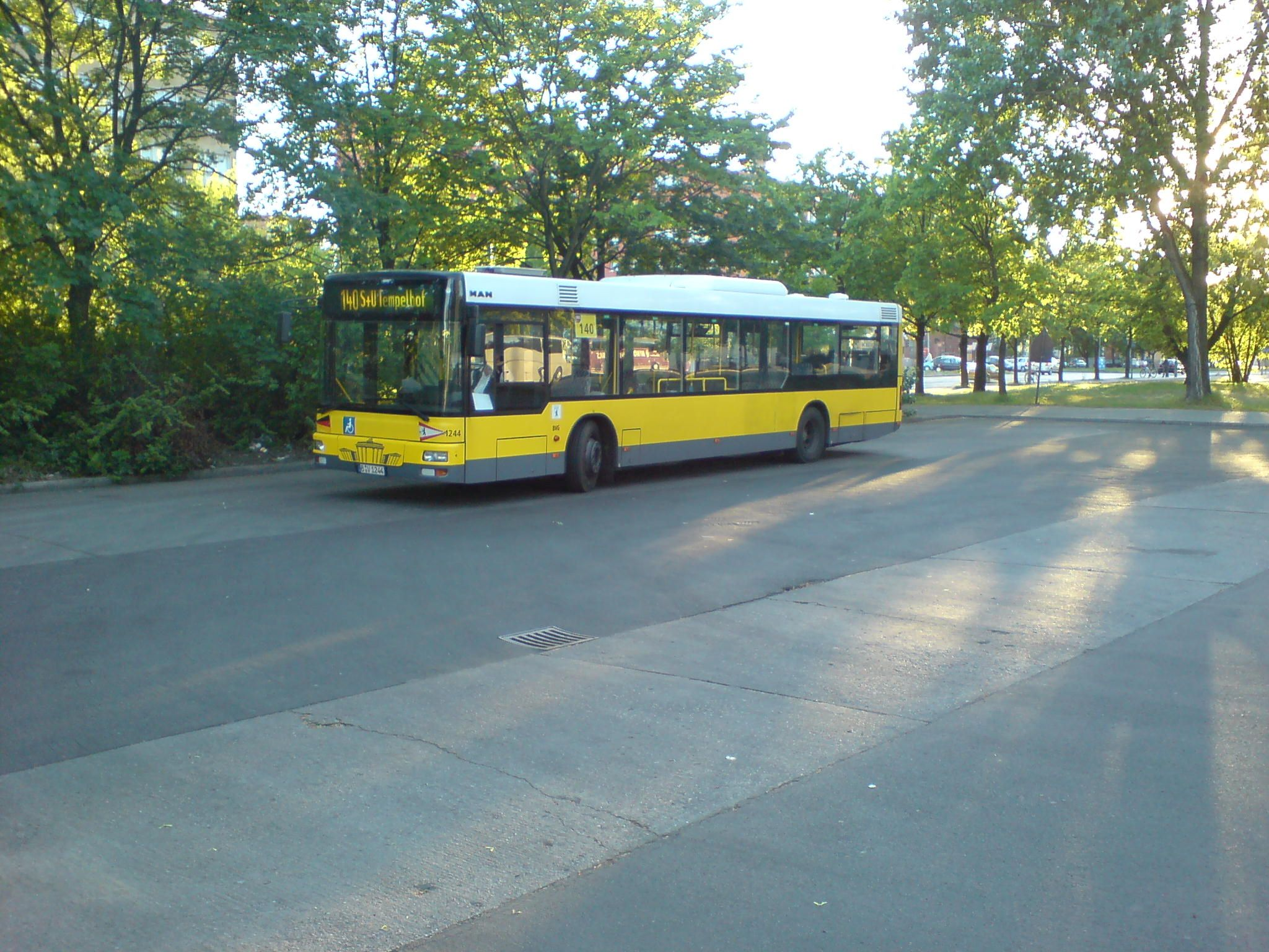 Bus 1244, MAN EN 01, Berlin Ostbahnhof, 2007