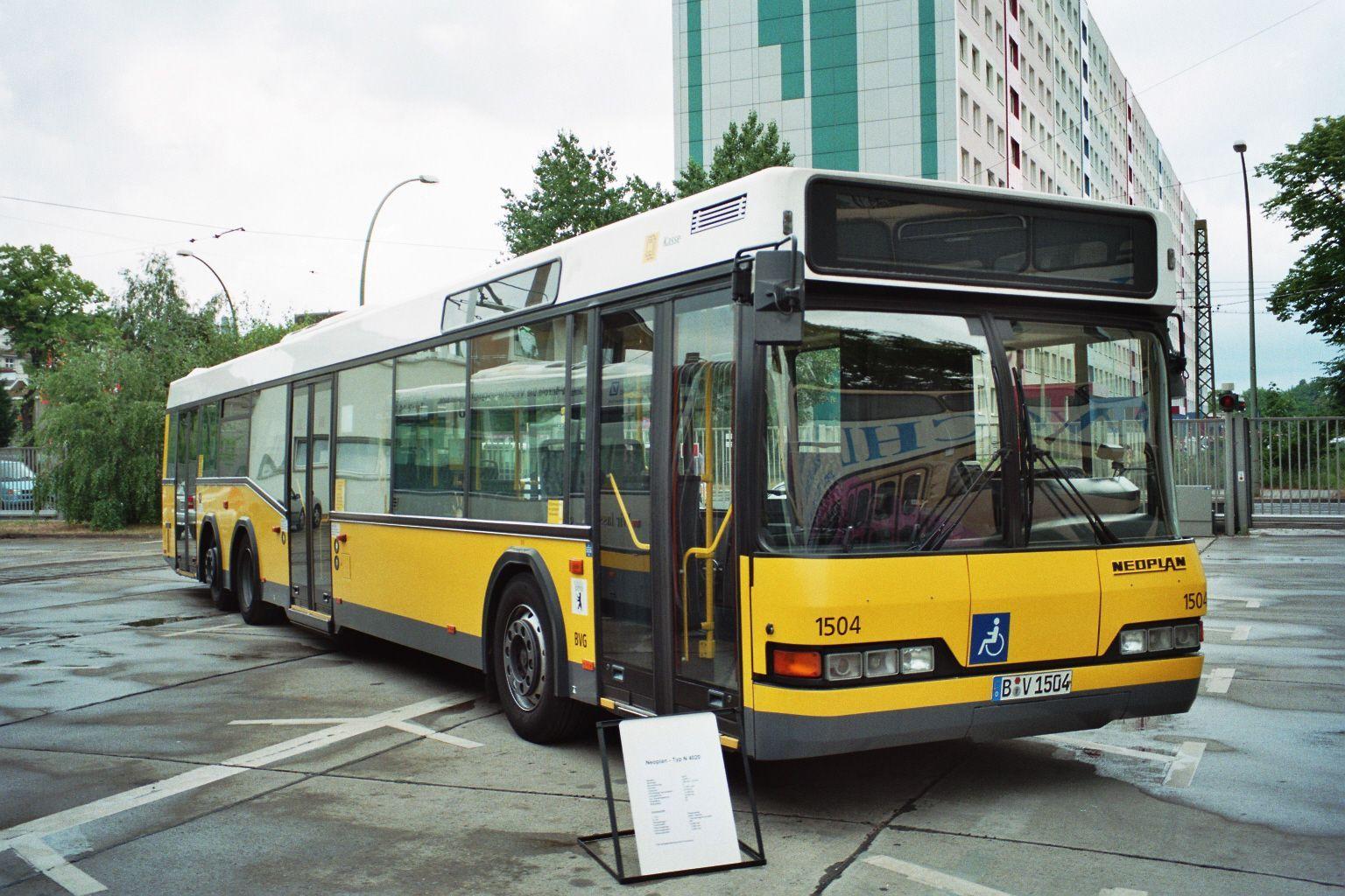 Bus 1504, Hof Siegfriedstraße, 2000