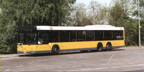 Bus 1539, Typ MAN LN 00, Wittenau, 2003