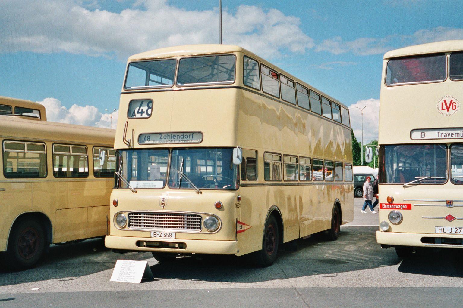 Bus 1658, Hof I, 1997