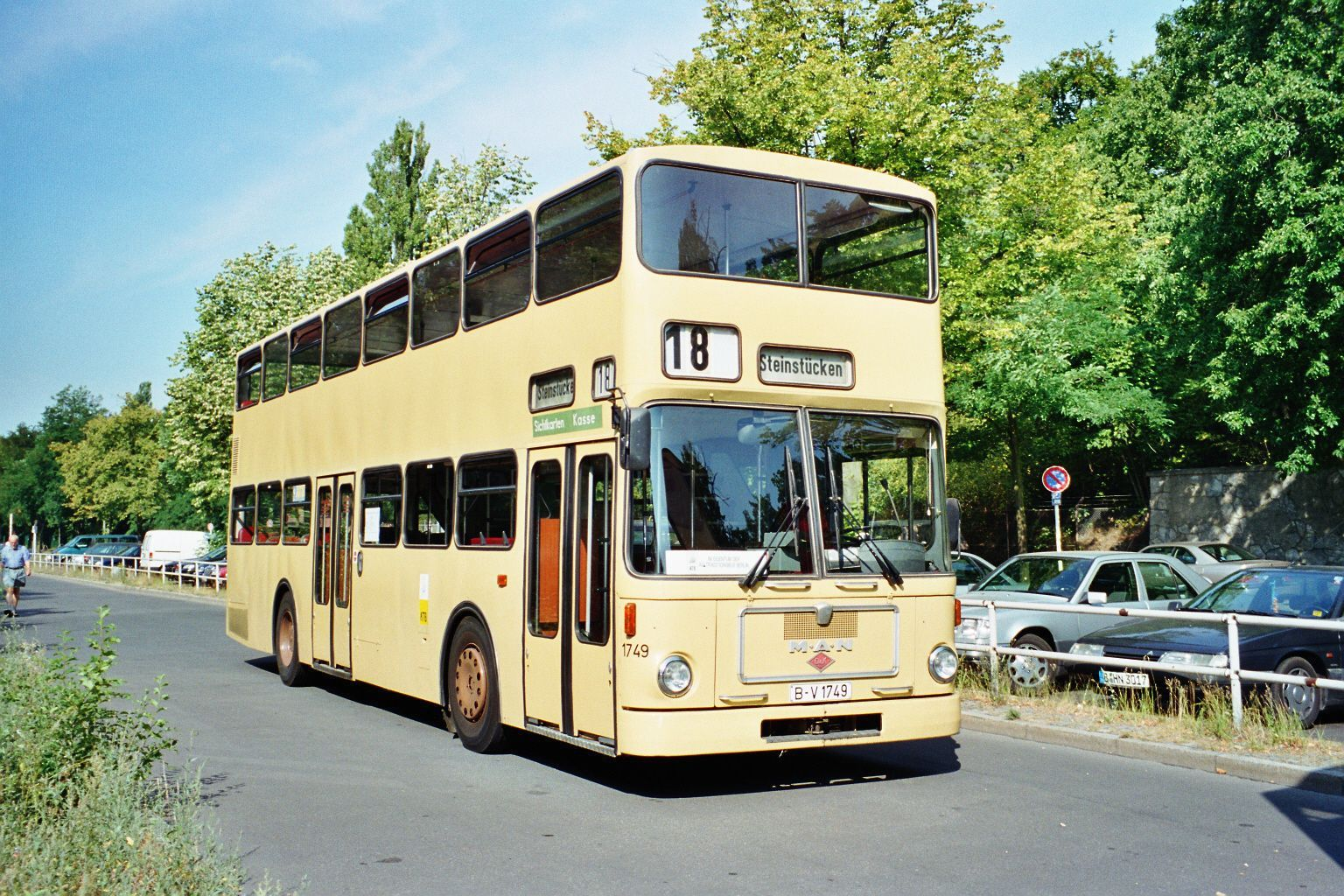 Bus 1749, S-Bf. Olympiastadion, 1999