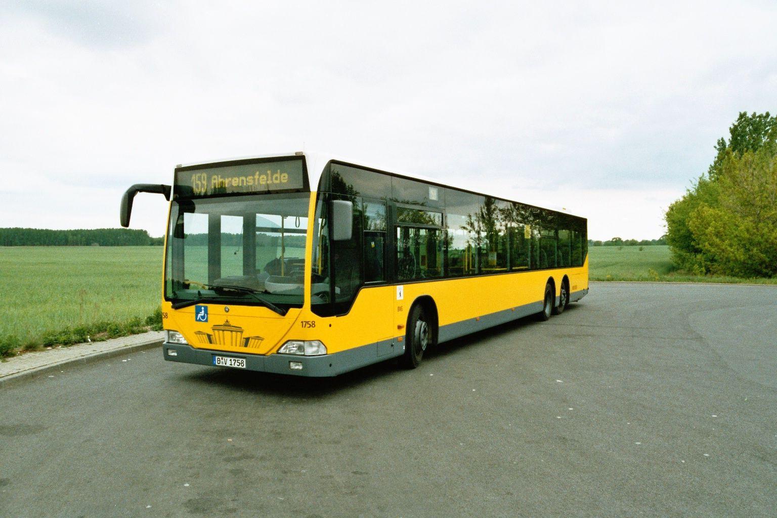 Bus 1758, Typ MB LN 02 (Citaro L), Buchholz, 2004