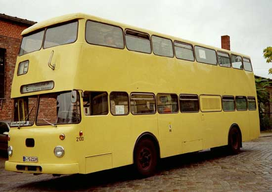 Bus 2100, Technikmuseum, 2004