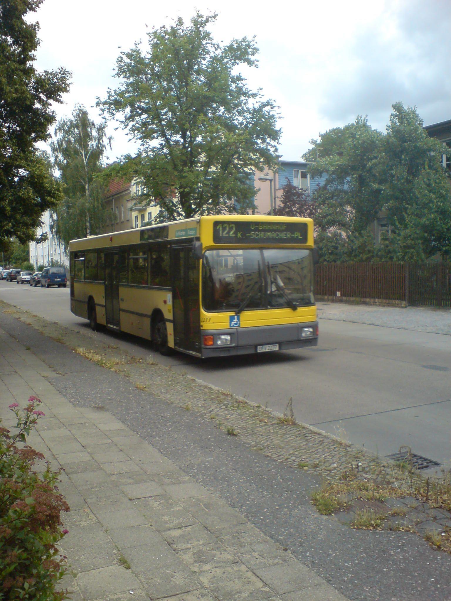 Bus 2277, Wilhelmsruh;