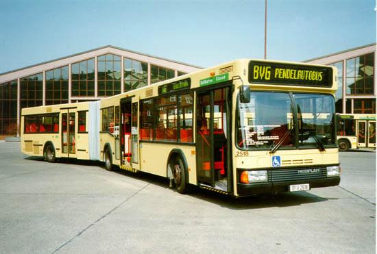 Bus 2518, BVG-Foto;