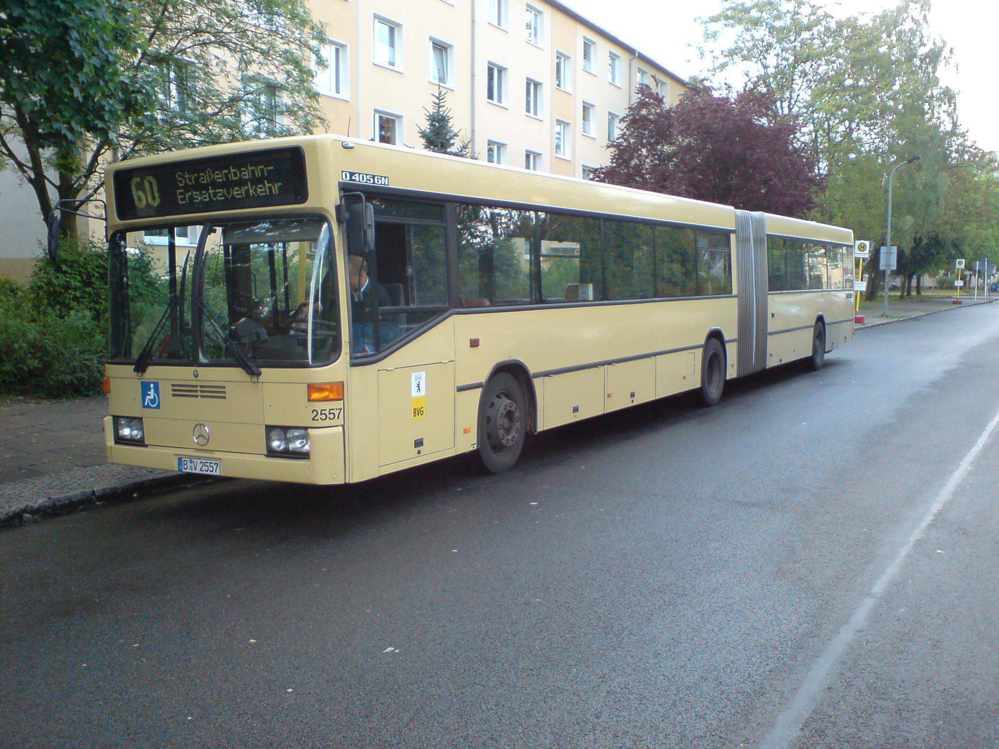 Bus 2557, Köpenick, 2007;