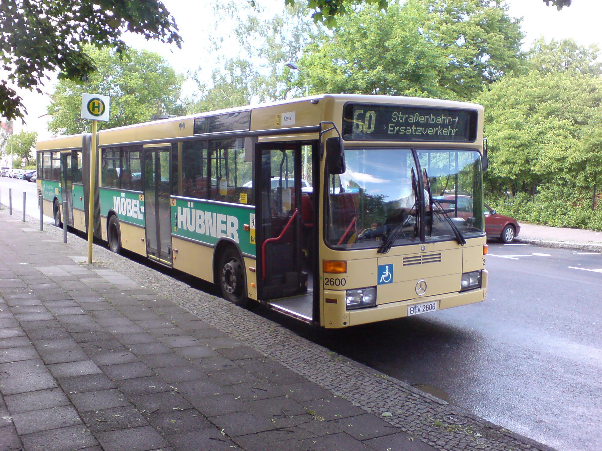 Bus 2600, Köpenick, 2007;