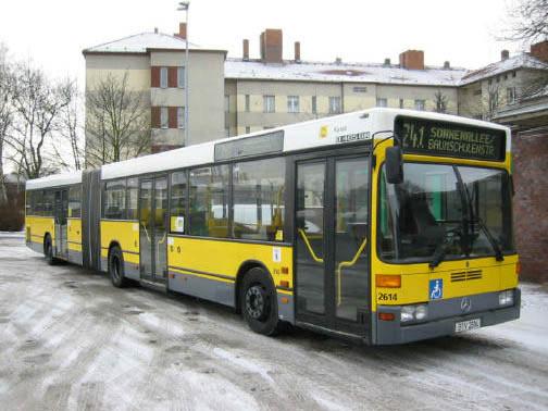 Bus 2614, BVG-Foto;