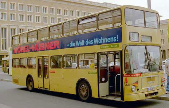 Bus 2626, Flughafen Tempelhof, Mai 2004