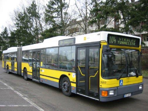 Bus 2693, BVG-Foto