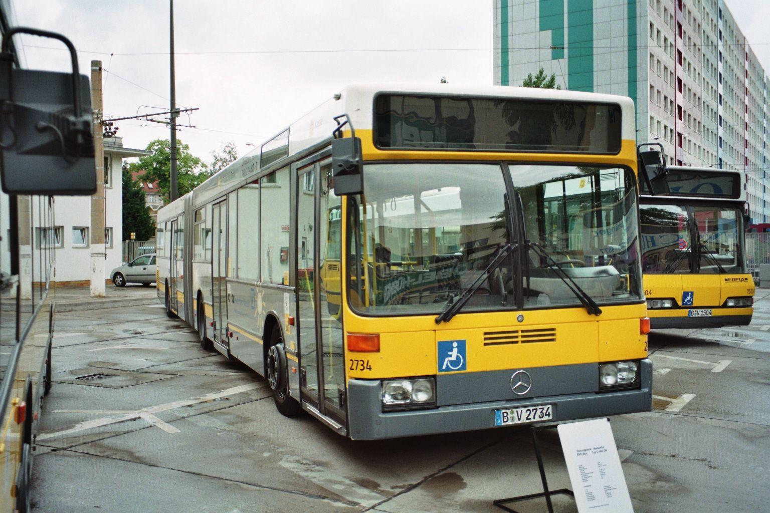 Bus 2734, Hof Siegfriedstr., 2000