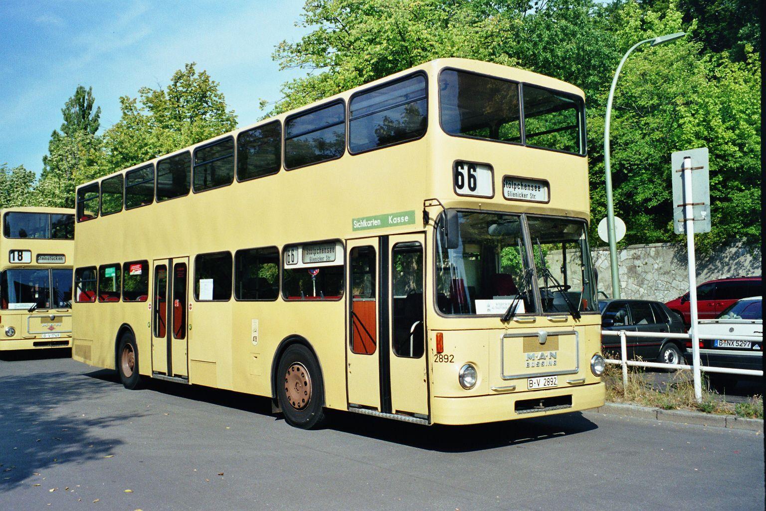 Bus 2892, S-Bf. Olympiastadion, 1999