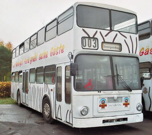 Bus 3078, Serengetipark Hodenhagen, 11.2007