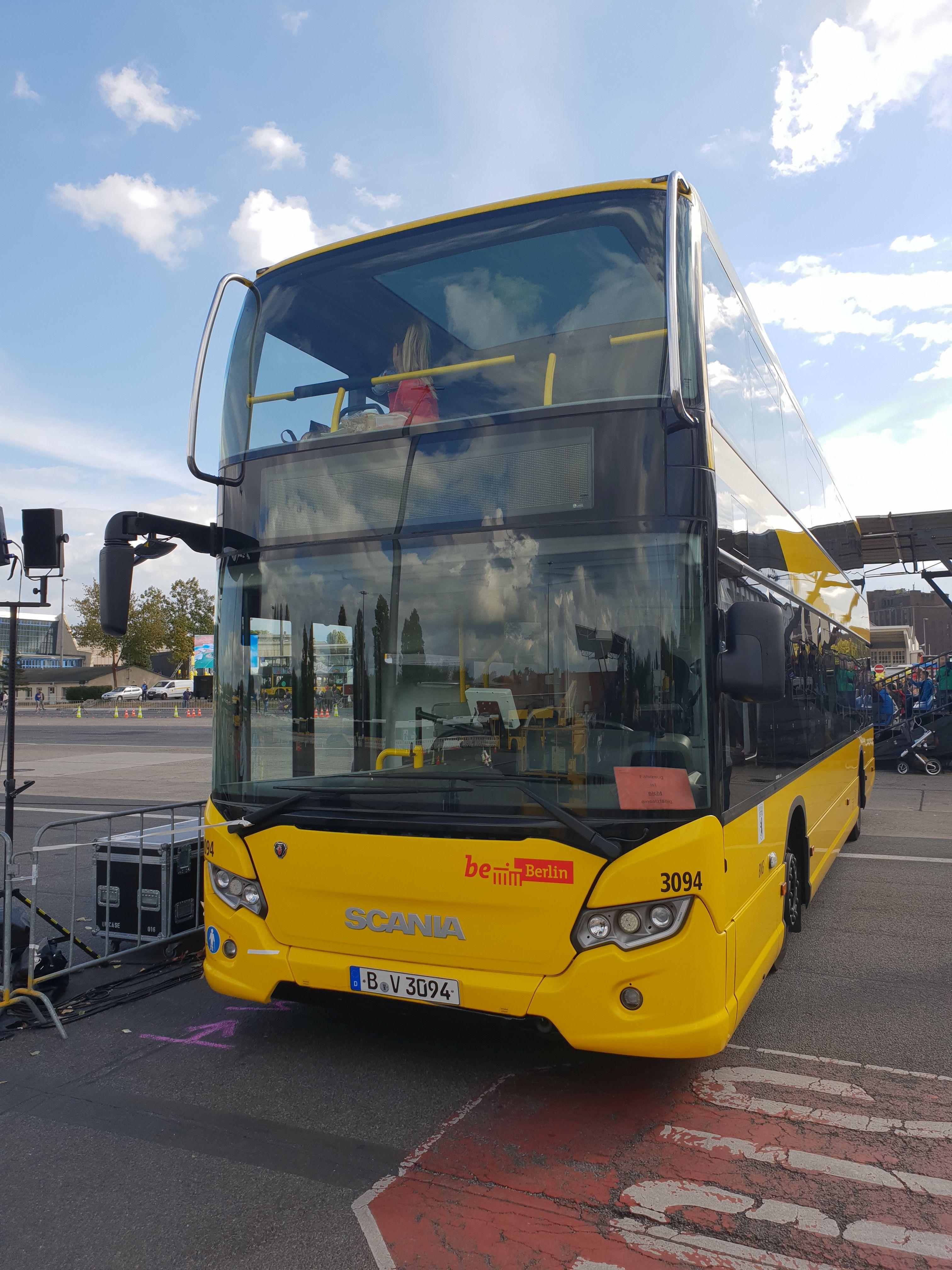 Foto: Bus 3094, Typ Scania Citywide LF, Hof Siegfriedstr., September 2018