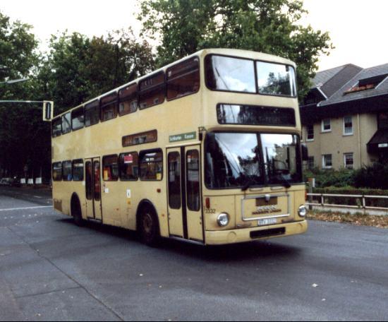 Bus 3332, Wittenau, 2002