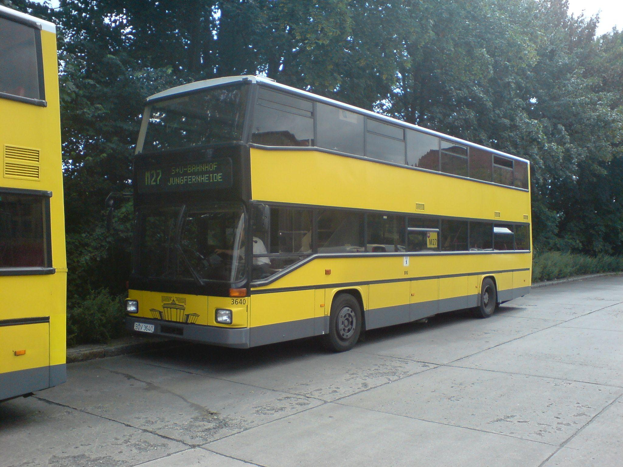 Bus 3640, Pankow, 2007