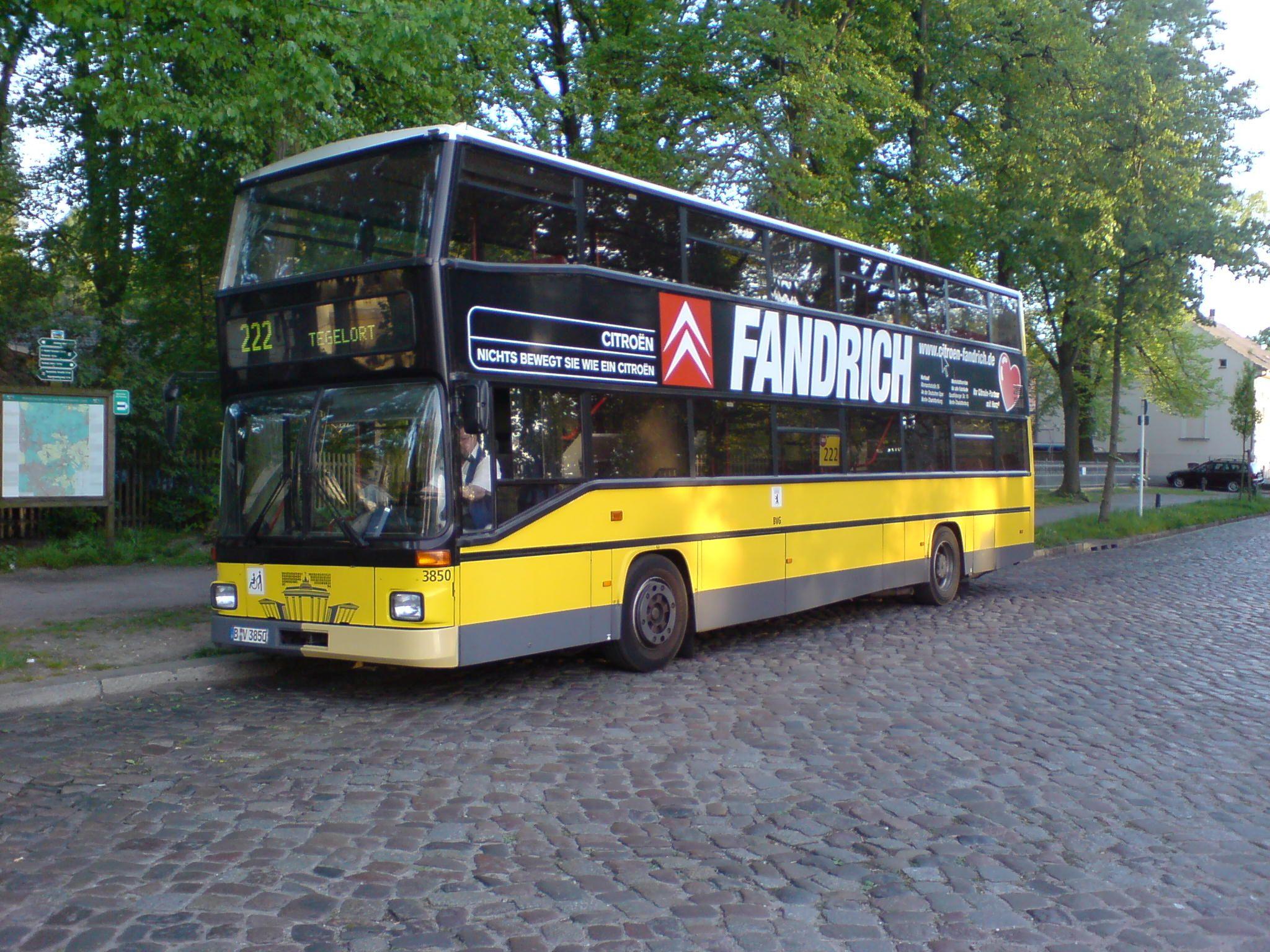 Bus 3850, Lübars, 2007