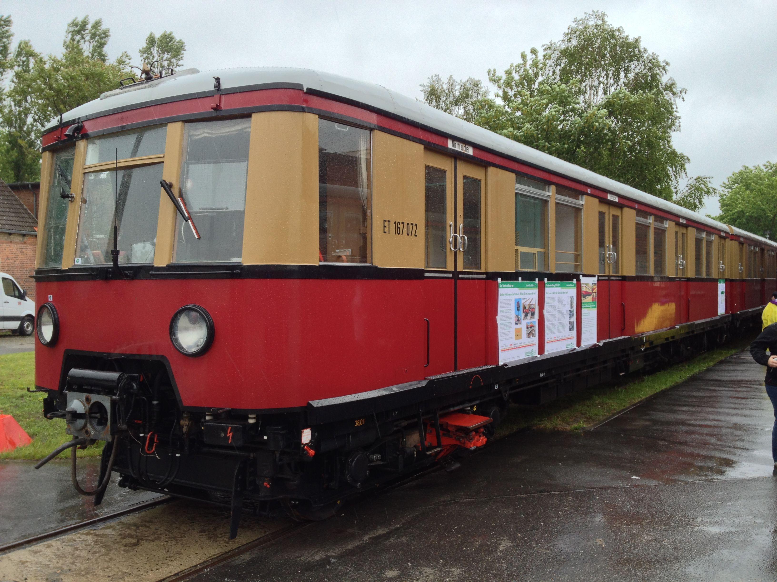 S-Bahn 167 072 in Erkner, Juni 2013