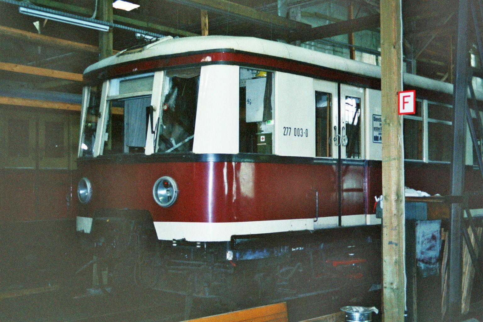S-Bahn 3839, Bauart 1938/1941, 277 003, Baureihe 167, Hundekehle, 1994