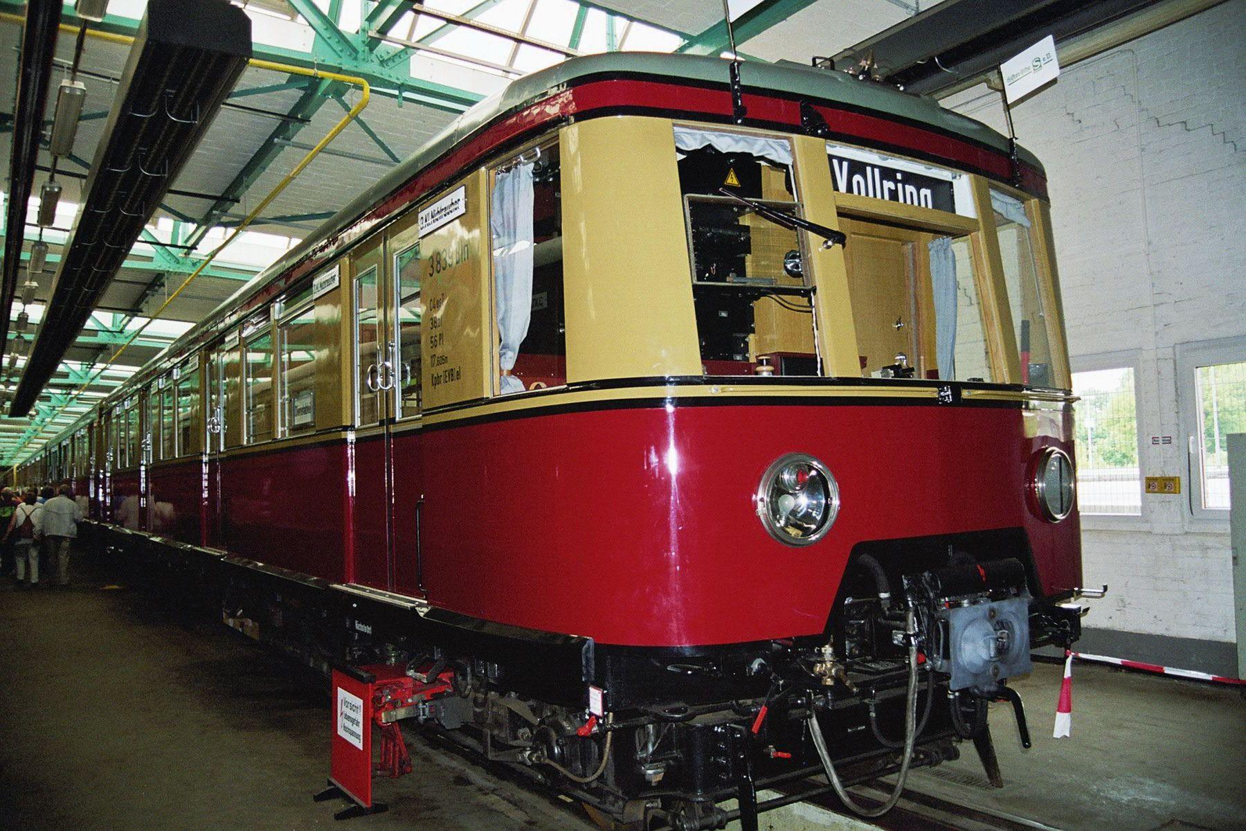 S-Bahn 3839, Bauart 1938/1941, ex 167 006, ex 277 003, Baureihe 167, Erkner, Mai 2005