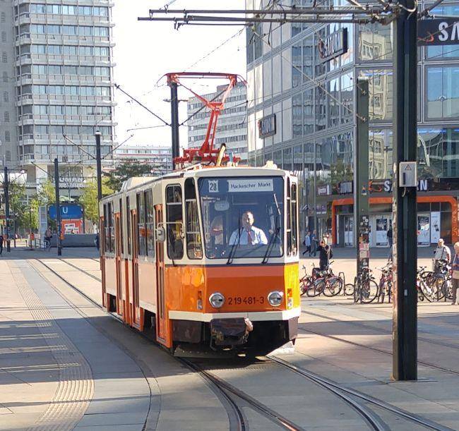 Straßenbahn 219 481