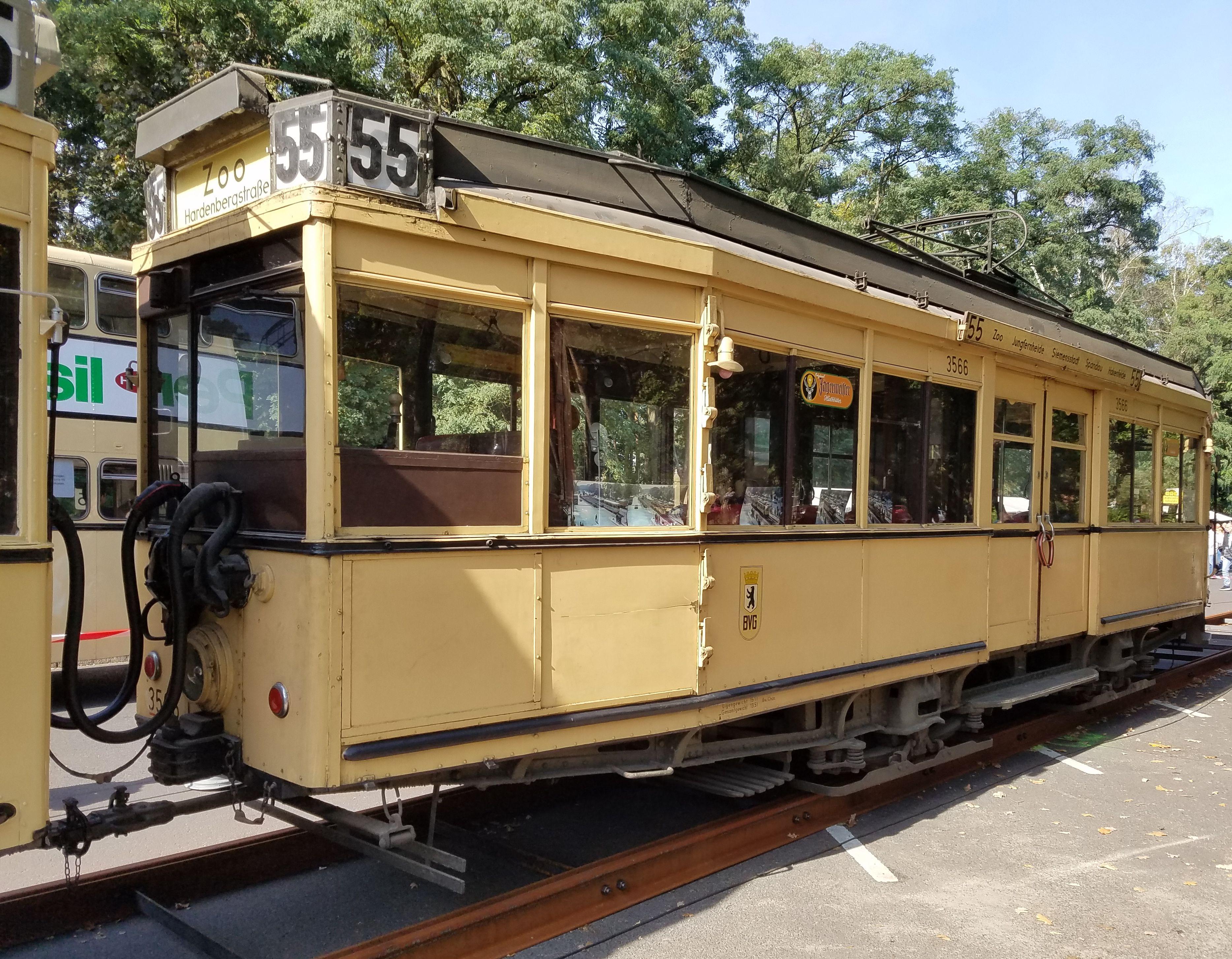Straßenbahn 3566